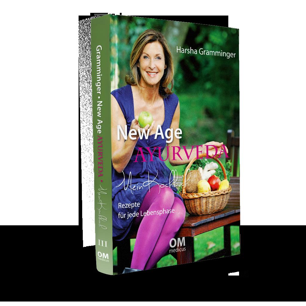 Ayurveda-Kochbuch von Dr. med. Harsha Gramminger mit zahlreichen Rezepten