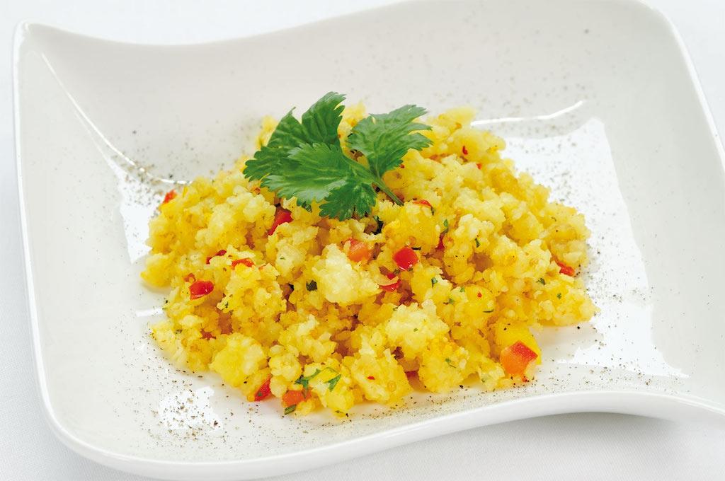 Ayurvedisches Kitchari mit Gemüse