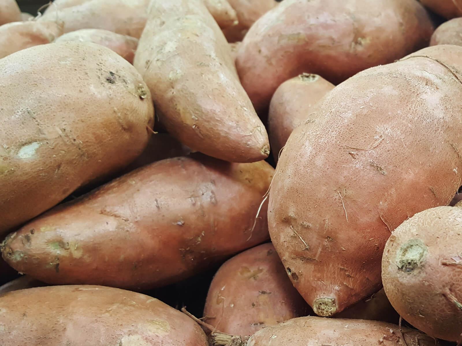 Süßkartoffeln für ein leckeres ayurvedisches Curry